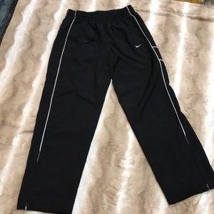 Nike Black /White Track Pants